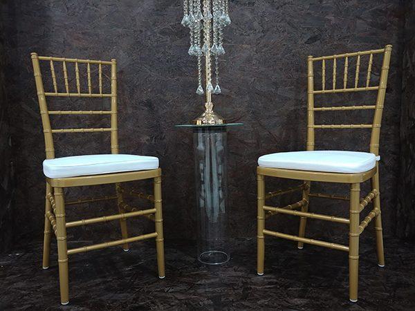 Tiffany Chair – Gold