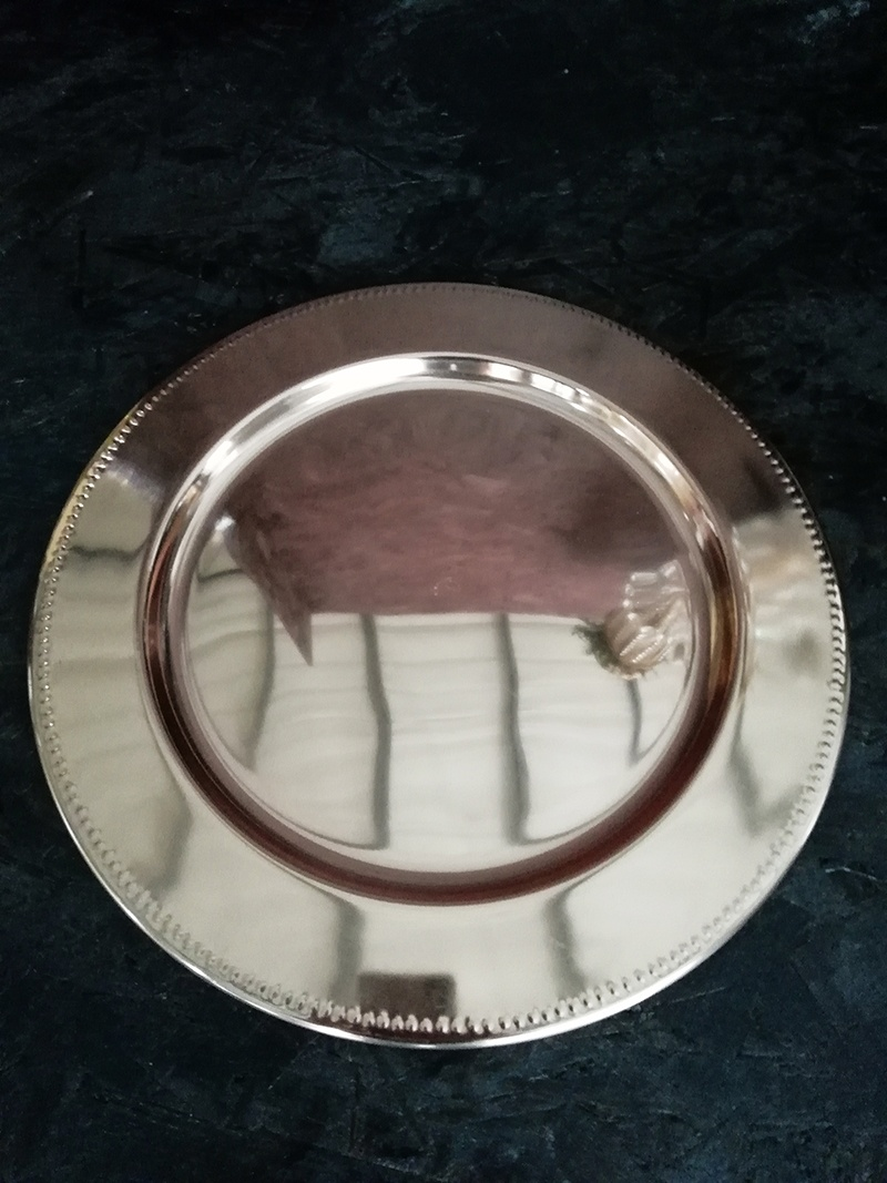 Cm Glass Plate For Under Candles