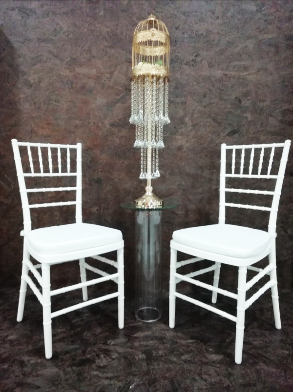 WT073 Chairs white Tiffany