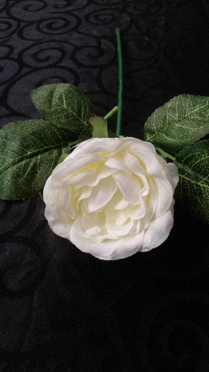 White Rose 28cm Long Flower Width 85cm R1 Functions And Events