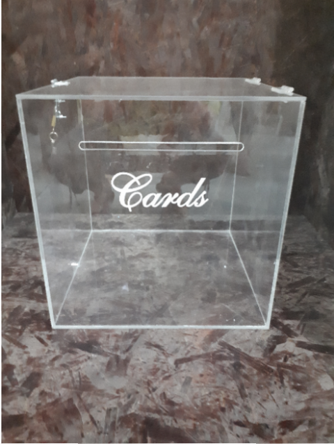 perspex letter box